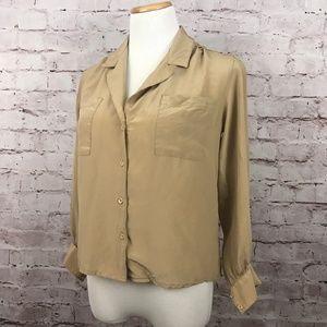 Vintage Silk Saks Fifth Avenue Blouse